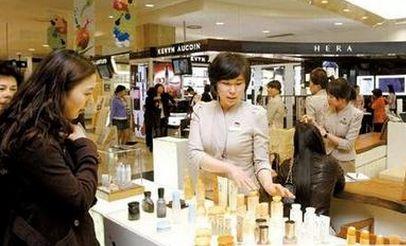 韩化妆品未准入华 引发韩国业界忧虑(组图)