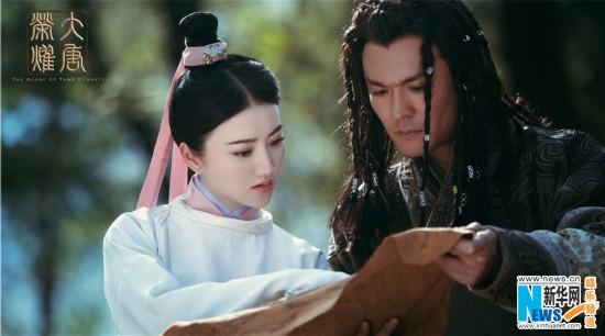 《大唐荣耀》曝人物关系组图 景甜七角恋扑朔迷离