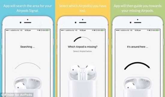"""苹果下架""""AirPods猎手"""" 被指阻止找寻丢失耳机"""