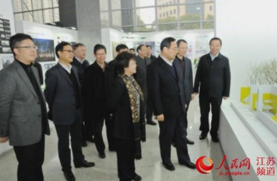 江苏副省长张雷调研2016年度全省住建工作