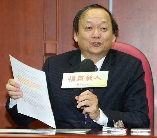 叶金川受台当局施压辞职 国民党:血淋淋的政治斗争