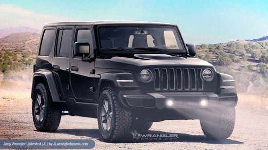 Jeep全新牧马人将11月发布 增加皮卡版