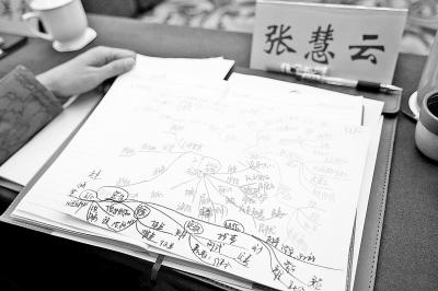 """省政协委员绘制""""精华版""""政协常委会工作报告图"""