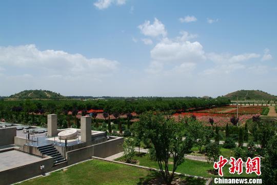 国家考古遗址公园汉阳陵博物馆是中国第一座地下博物馆。陕西省文物局供图
