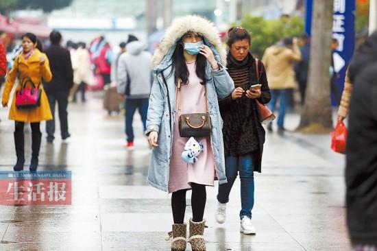 广西阴雨持续气温低迷 未来一周有冷空气南下影响