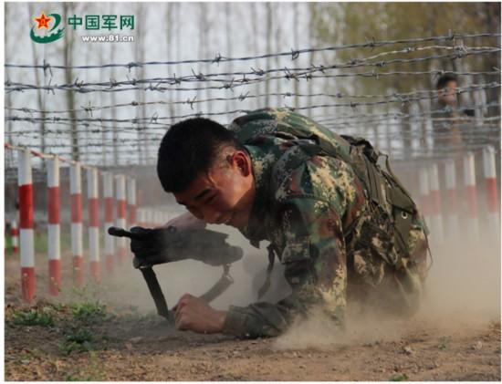 兵哥最赞的训练照片,看完你会惊叹的!