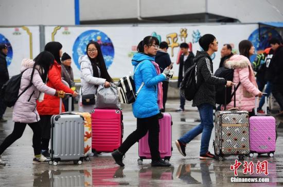 春运前三天全国共发送旅客2.1亿人次