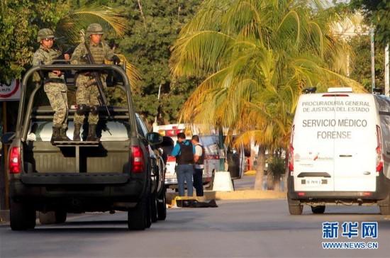 (国际)(1)墨西哥一检察院发生枪击事件至少3人死亡