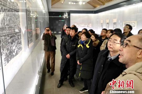 40件山东汉代石刻拓片精品亮相西安碑林博物馆