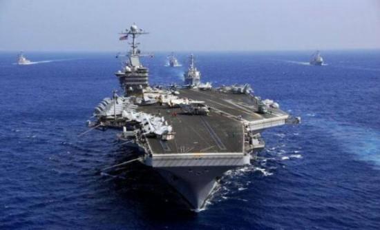 美或在亚太常态化部署双航母 第二艘驻关岛