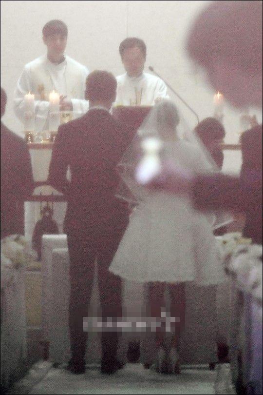 Rain和金泰熙今日大婚。