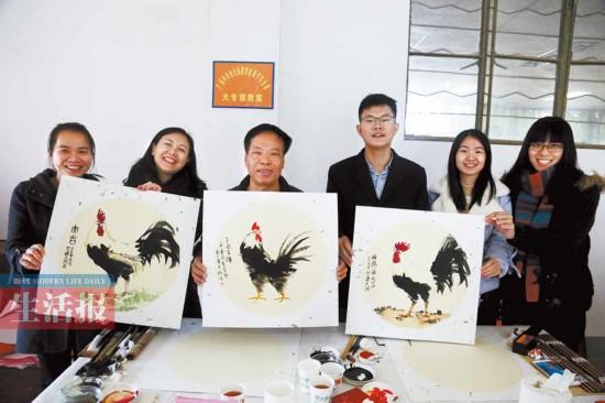 鸡年说鸡:鸡年鸡画受热捧 这些寓意你懂吗?(图)