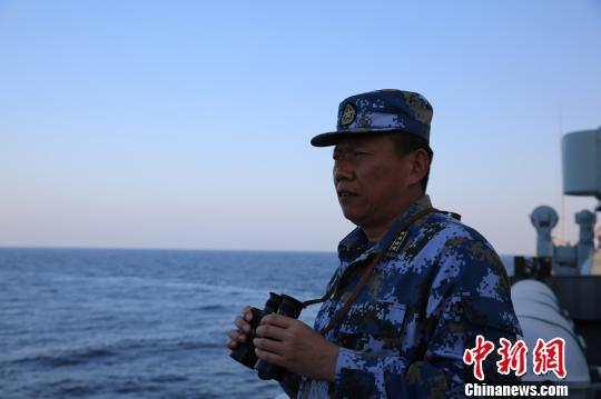 中国海军第二十五批护航编队参谋长姜克田:五赴亚丁湾写荣光