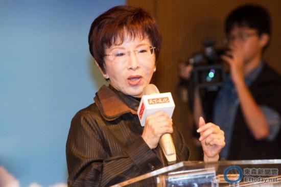 国民党主席选举将五强鼎立 洪秀柱:有竞争才有进步