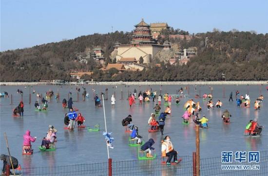 北京四大公园天然湖冰场开放