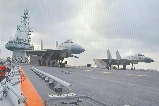 国产航母预计2017年下水  日媒惊呼日军比中国海军逊色很多
