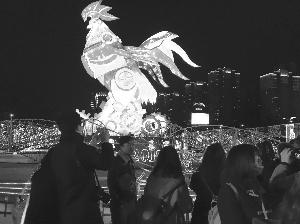 苏台灯会首次亮相常州 为游客奉上视觉盛宴