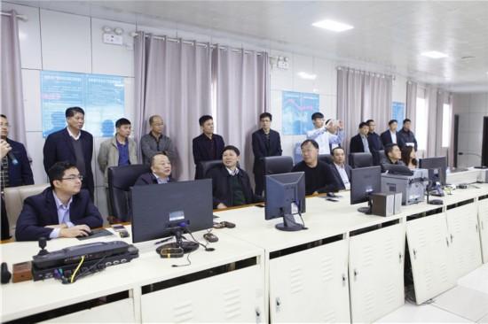 貴州省能源局副局長胡世延到百礦集團參觀考察