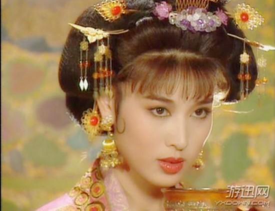这才是真正的古典美女 仙气十足, 网红脸 怎么比