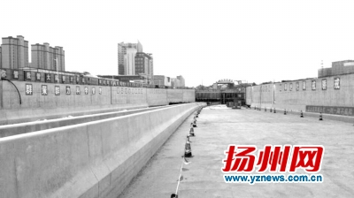 扬州站南路支线上跨桥春节前可通车 便民出行
