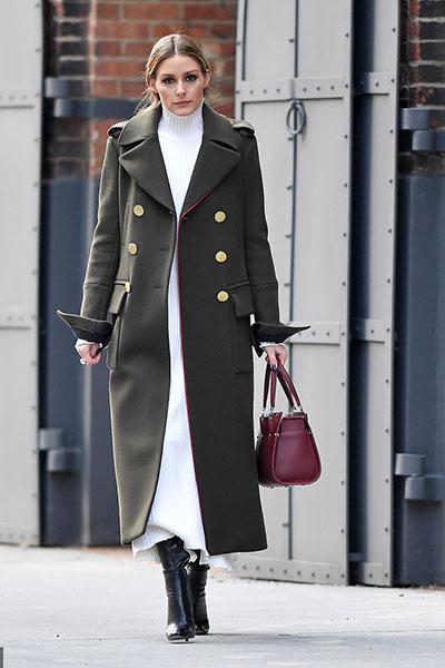 小个子+长大衣,穿出新高度!