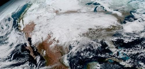 高清看地球 美国GOES-16气象卫星传回首批照片