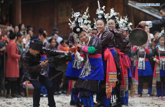 #CHINA-GUIZHOU-DONG PEOPLE-TRADITION (CN)