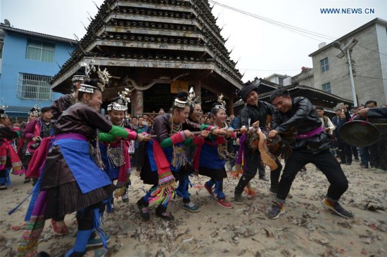 #CHINA-GUIZHOU-DONG PEOPLE-TRADITION (CN)