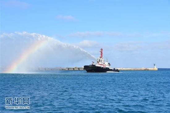 三沙市首艘综合保障船完成首航