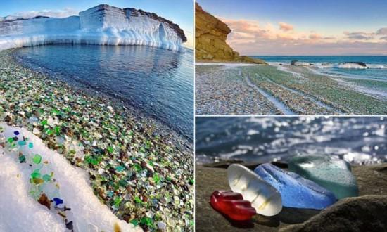玻璃海岸照片