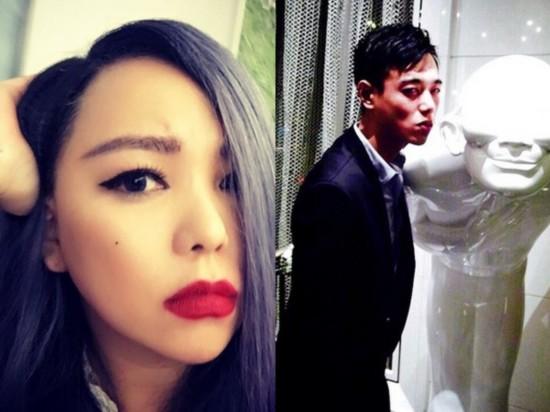 张惠妹和男友
