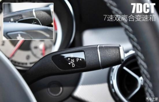 北京奔驰 奔驰GLA 2016款 GLA 200 动感型