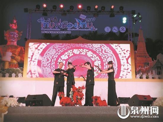 """参加中泰""""欢乐春节""""活动泉州木偶剧团 载誉归来"""