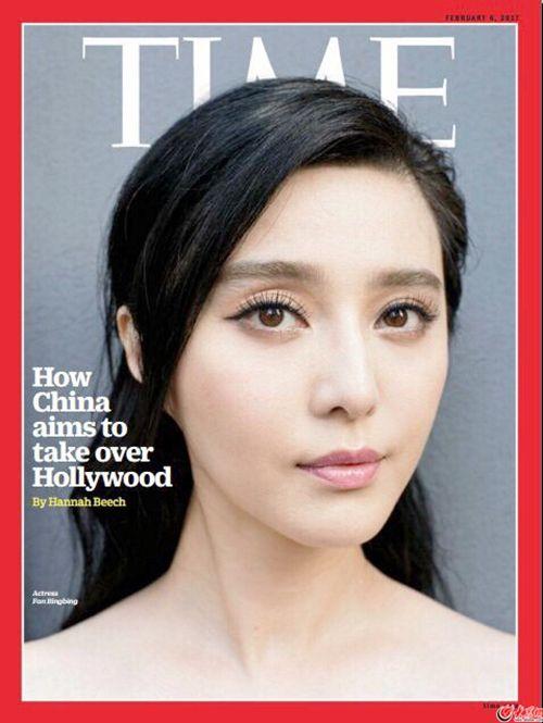 范冰冰登《时代周刊》封面 华人影星时隔9年再登封