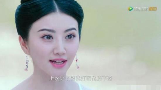 《大唐荣耀》景甜欧式大双眼皮闪耀 景甜整容了吗