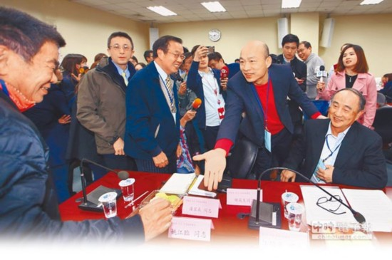 国民党主席选举13日起联署 时间由10天放宽到62天