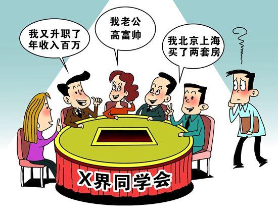 75.5%受访者春节期间参加了同学聚会