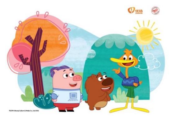 《豆小鸭》在美迪斯尼收视率节节攀升,开创国际新格局