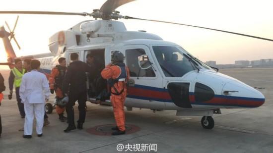 台湾海峡一中国籍渔船遇险 救援现场曝光【6】
