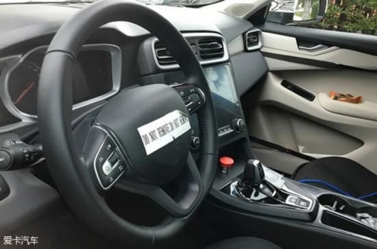 Lynk&Co首款车型CX11谍照 定位高于博越