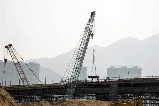 (图文互动)(5)港珠澳大桥香港段预计2017年底完工 显著促进跨境交通