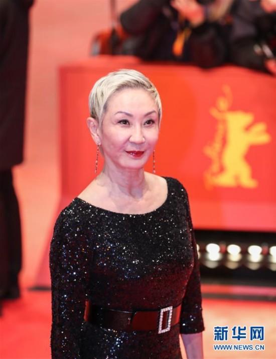 施南生亮相第67届柏林国际电影节