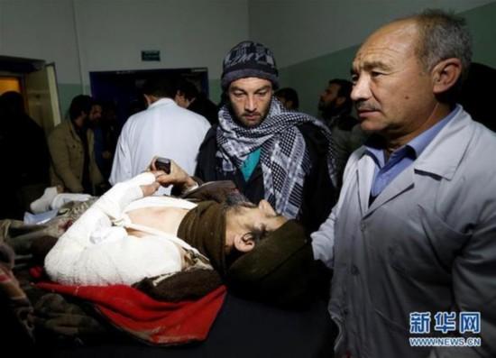 """(外代一线)(3)""""伊斯兰国""""宣称制造阿富汗最高法院袭击事件"""