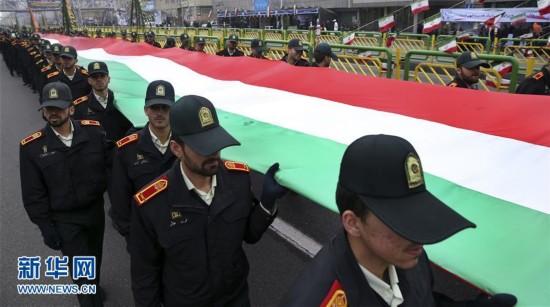 (外代一线)(1)伊朗举行集会抗议美国对伊制裁