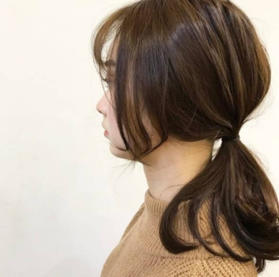 换个新发型开工,两刀剪出最夯的姬发式刘海