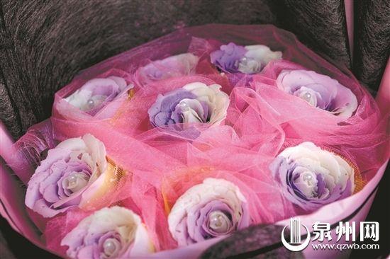 特殊的香皂花