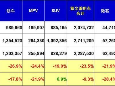 在诸多因素作用下,乘用车市场结束了连续11个月保持的同比增长局面,出现下滑。