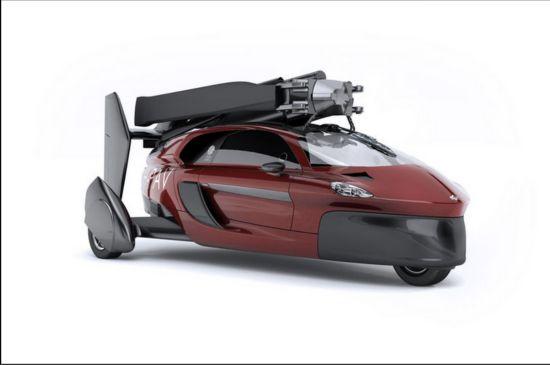 """全球首款商用""""飞行车""""开始预订 售40万美元"""