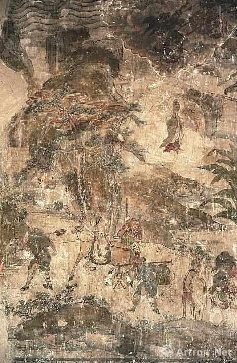 张掖大佛寺壁画