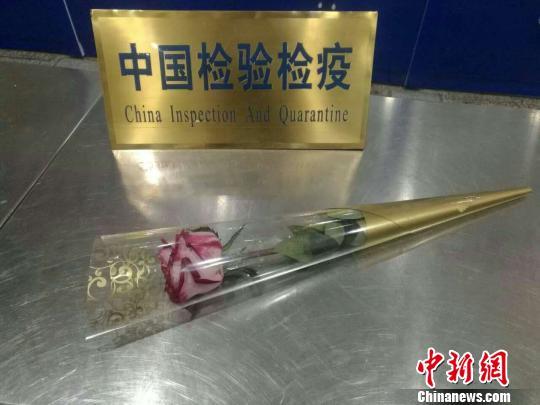 情人节外籍旅客带玫瑰入境未审批被截留(图)
